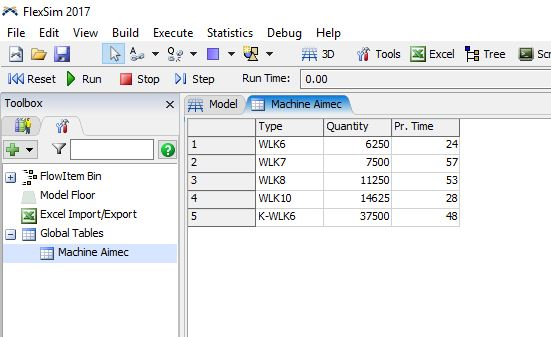 How can Processor import from excel with diff  processing