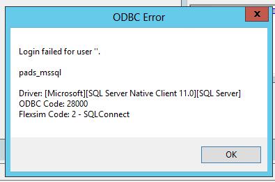 SQL Server Connection over ODBC - FlexSim Community