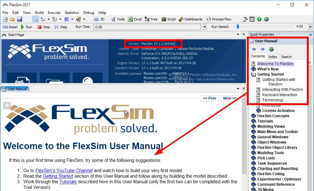 17 update 1 manual font hard to read flexsim community rh answers flexsim com Flexsim Rack Flexsim CEO