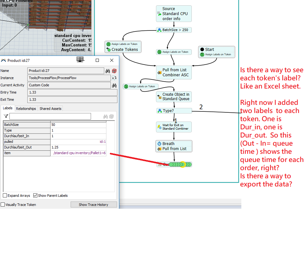 How to set limit on combiner, making priority on orders, and