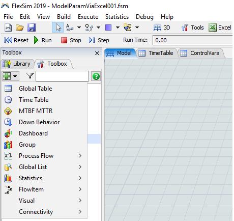 Where is Global Variables tool? - FlexSim Community